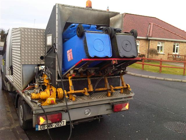 Domestic Wheelie Bin Cleaning