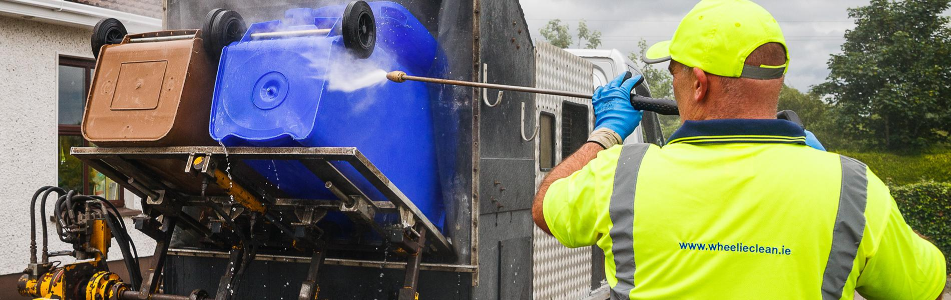 Wheelie Clean - Commercial Bin Cleaning Dublin